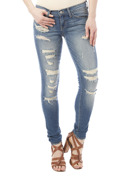 Shoptiques Product: Distressed Skinny Jean