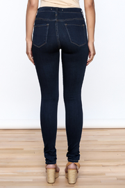 Flying Monkey High Waisted Jeans - Back cropped
