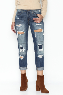 Flying Monkey Ripped Ripped Jeans - Product List Image