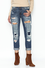 Flying Monkey Ripped Ripped Jeans - Product Mini Image