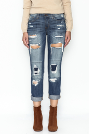 Flying Monkey Ripped Ripped Jeans - Front full body