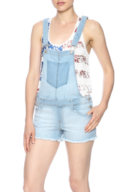Flying Monkey Short Jeans Overall - Product Mini Image