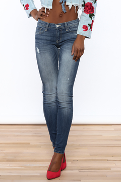 Shoptiques Product: Skinny Distressed Jeans