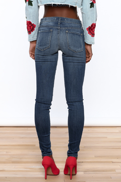 Flying Monkey Skinny Distressed Jeans - Alternate List Image