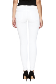 Shoptiques Product: Slashed Knee Skinny - Back cropped