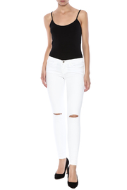 Shoptiques Product: Slashed Knee Skinny - Front full body