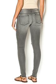 Flying Monkey Vintage Skinny Jeans - Back cropped