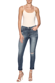 Flying Monkey Viscose Cropped Jegging - Front full body