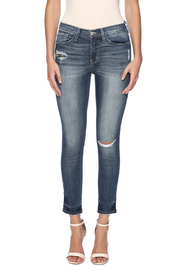 Flying Monkey Viscose Cropped Jegging - Side cropped