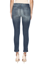 Flying Monkey Viscose Cropped Jegging - Back cropped