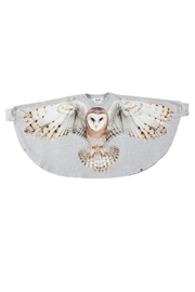 Molo Flying Owl Cape - Front full body