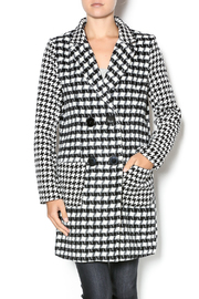Flying Tomato Houndstooth Coat - Product Mini Image