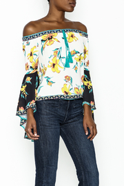 Flying Tomato Off Shoulder Top - Front cropped