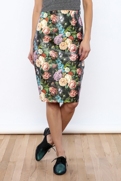 Shoptiques Product: Painted Leather Skirt