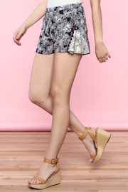 Shoptiques Product: Navy Print Shorts