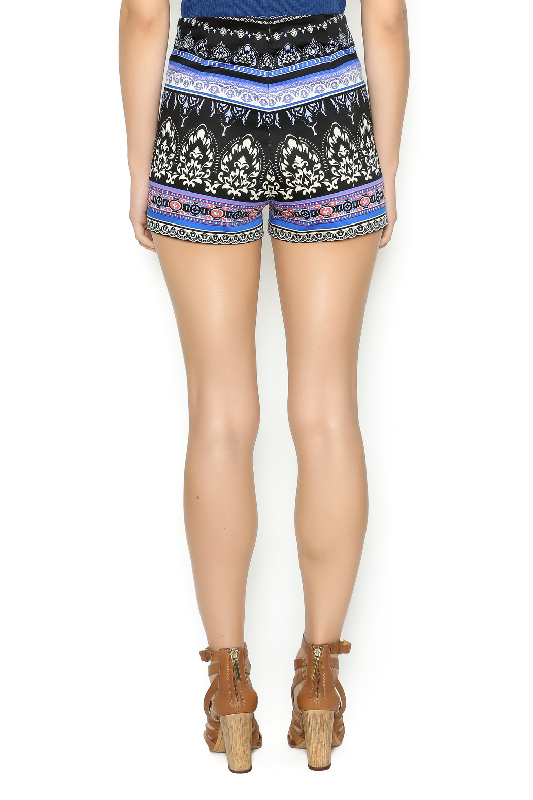 Flying Tomato High Waisted Printed Short From New York