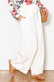 Flying Tomato White Palazzo Pants - Product Mini Image