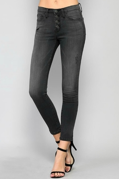 Flying Monkey Button Fly Denim Jeans - Product List Image