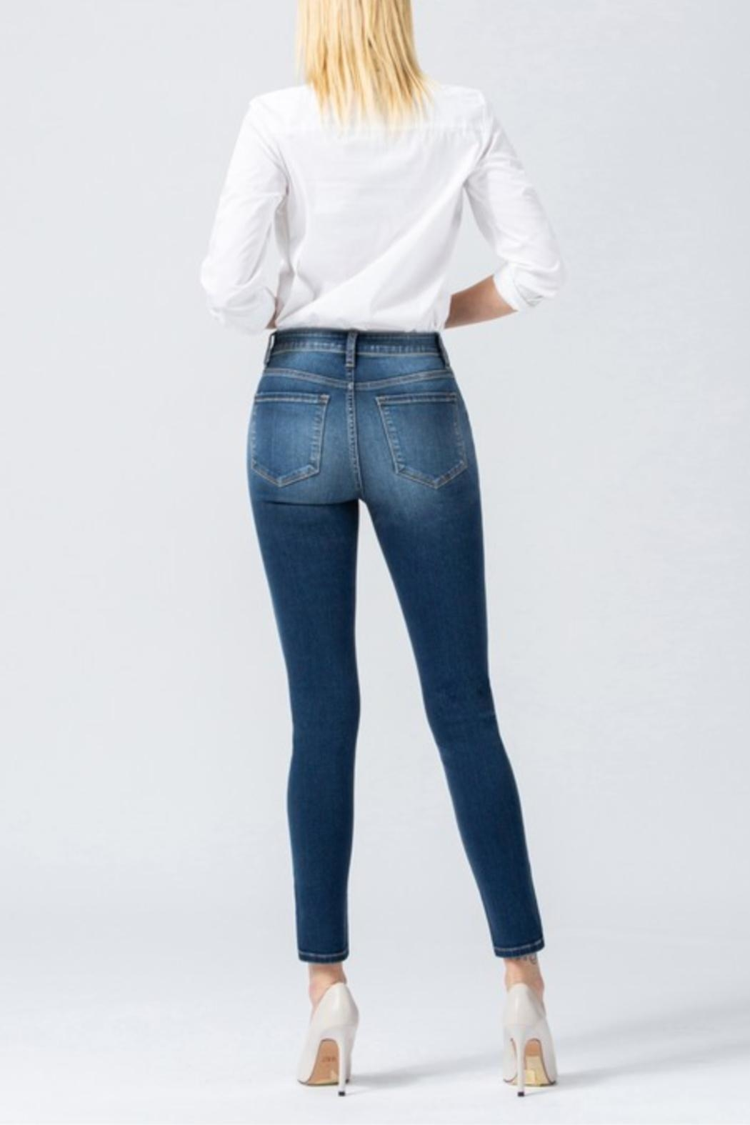 Flying Monkey Common High-Rise Denim - Side Cropped Image