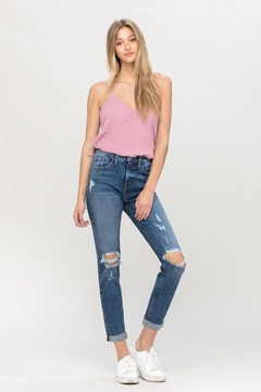 Shoptiques Product: Distressed Boyfriend Jean