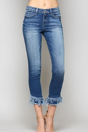 Flying Monkey Fray Crop Jean - Front cropped