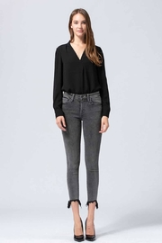 Flying Monkey Grey Washed Jeans - Front full body