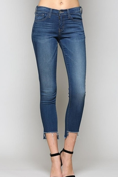Shoptiques Product: Hem Crop Denim