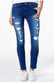 Flying Monkey Mid-Rise Distressed Jean - Product Mini Image