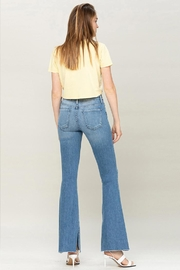 Flying Monkey Mid-Rise Flare Jeans - Side cropped