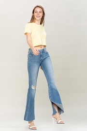 Flying Monkey Mid-Rise Flare Jeans - Product Mini Image