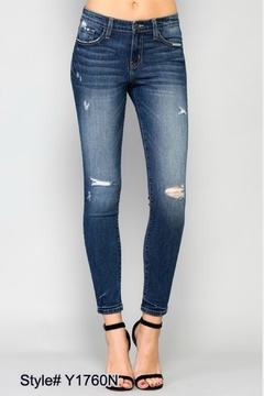 Flying Monkey Mid-Rise Skinny Jeans - Product List Image