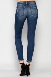 Flying Monkey Mid-Rise Skinny Jeans - Back cropped