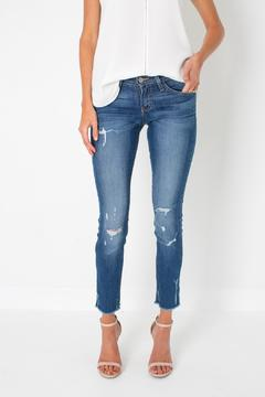 Shoptiques Product: Skinny Cropped Jeans