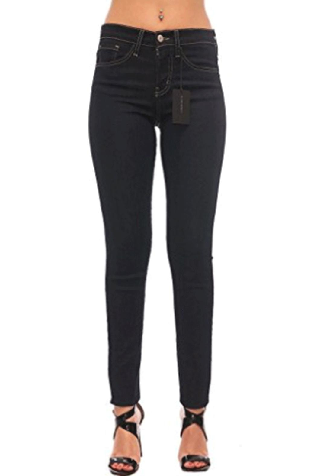 Flying Monkey Skinny Highrise Jean - Front Cropped Image