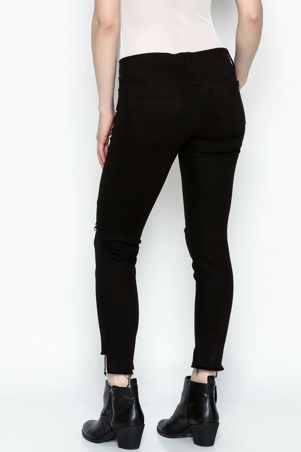 Flying Monkey Skinny Jeans - Back Cropped Image