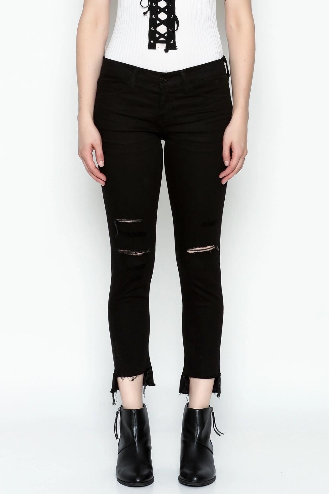 Flying Monkey Skinny Jeans - Front Cropped Image