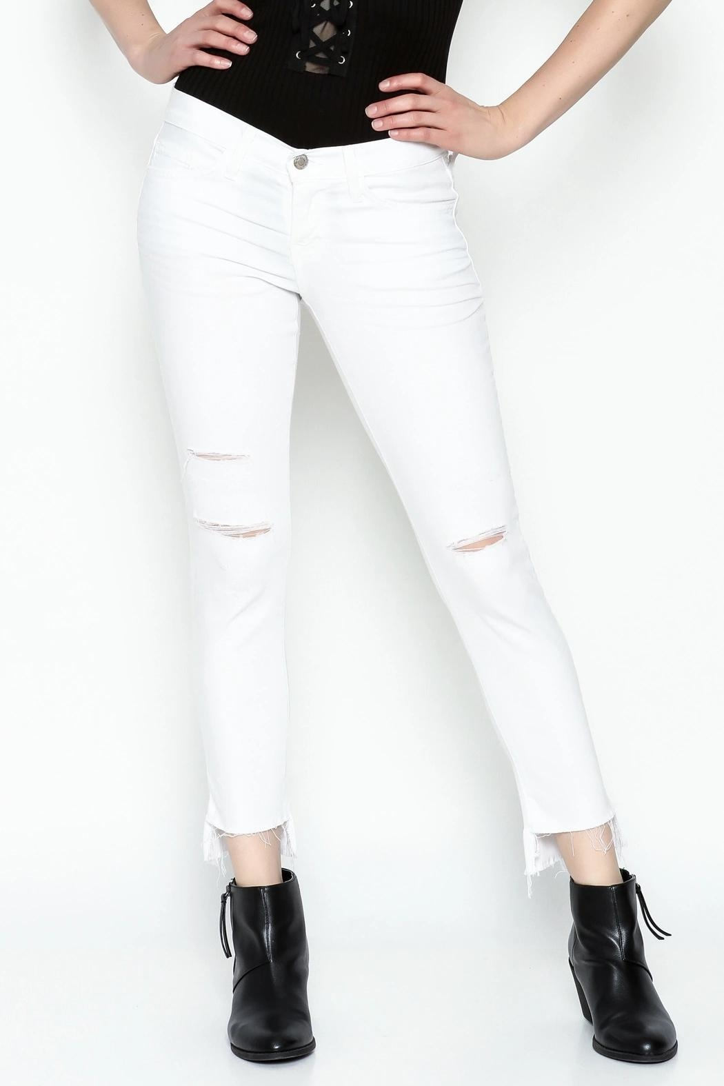 Flying Monkey Skinny Jeans - Side Cropped Image