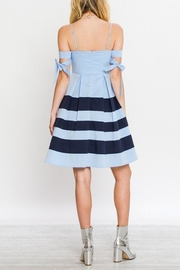 Flying Tomato A-Line Nautical Dress - Back cropped