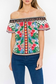 Flying Tomato Alena Off-The-Shoulder Top - Product Mini Image