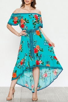 Flying Tomato Audrey Off-Shoulder Maxi - Product List Image