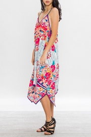 Flying Tomato Aztec Floral Dress - Side cropped