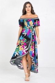 Flying Tomato Be Bright & Tropical Dress - Front cropped