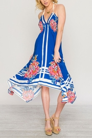 Flying Tomato Blue Sky Dress - Front cropped