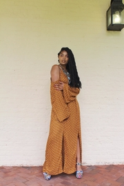 Flying Tomato Bohemian Dot Maxi - Side cropped