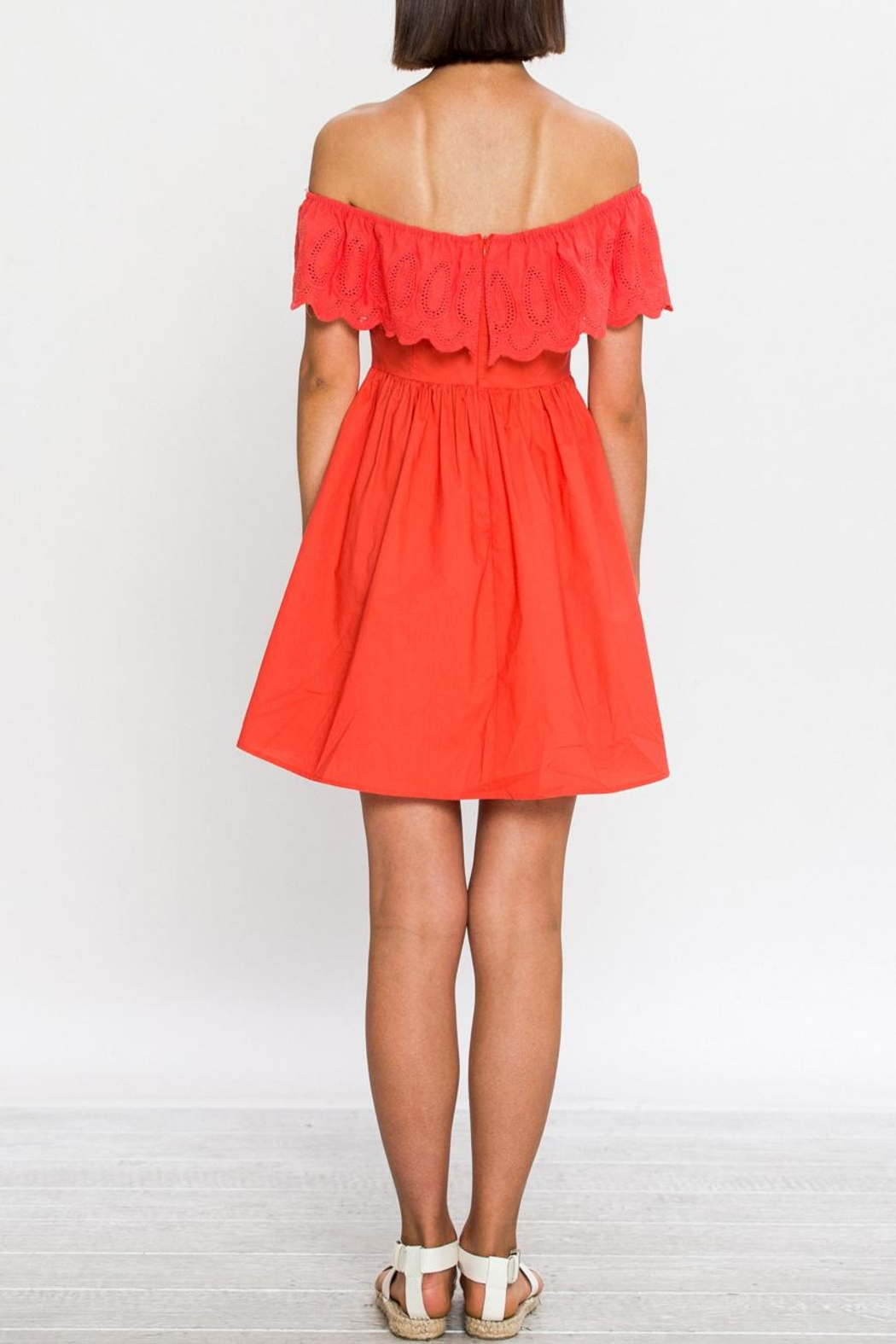 Flying Tomato Bright Day Dress - Front Full Image