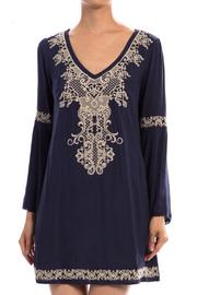 Shoptiques Product: Detail Tunic Dress - Front cropped