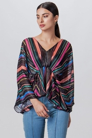 Flying Tomato Drape Sleeve Blouse - Product Mini Image