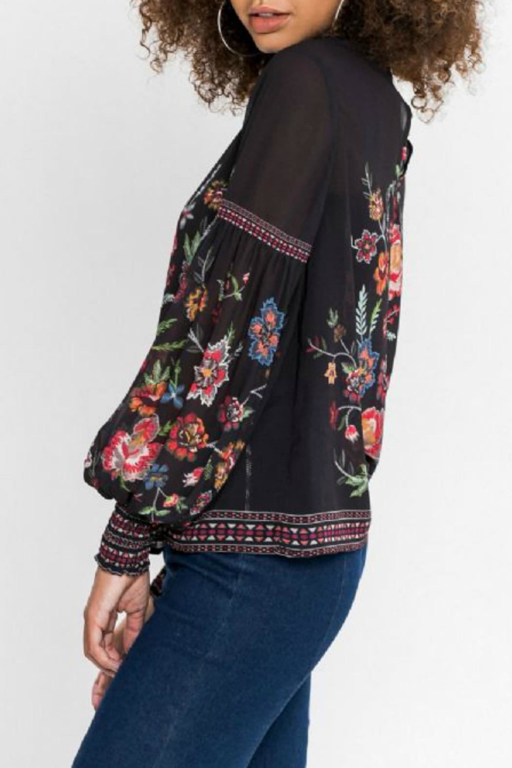 Flying Tomato Floral Longsleeve Top - Side Cropped Image
