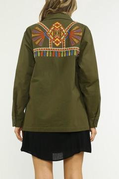 Shoptiques Product: Embroidered Military Jacket