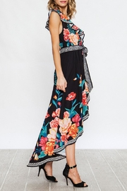 Flying Tomato Emma Floral Dress - Side cropped